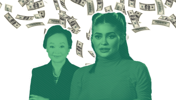 The Richest Self-Made Woman Earns the Average Salary in Just