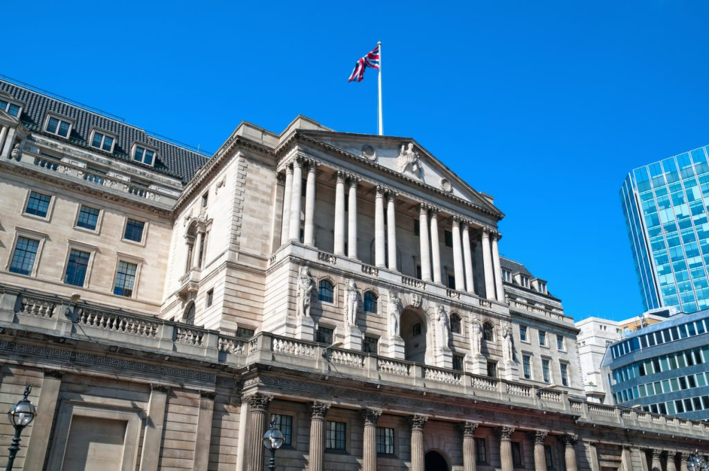 BoE Asks Banks About Readiness for Negative Interest Rates