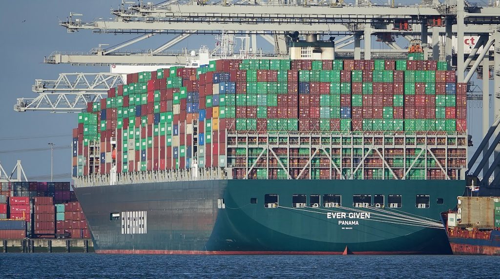 Suez Canal Blockage Holds Up $9.6 Billion in Daily Shipments