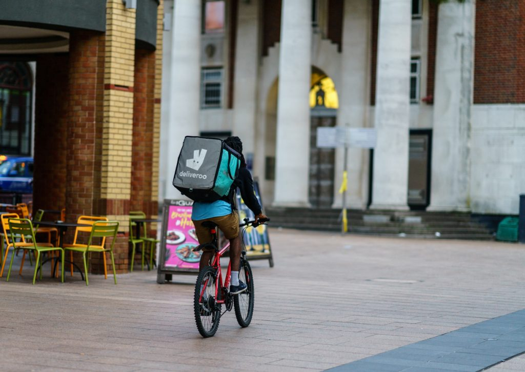 Deliveroo Orders Double In First Six Months Of 2021